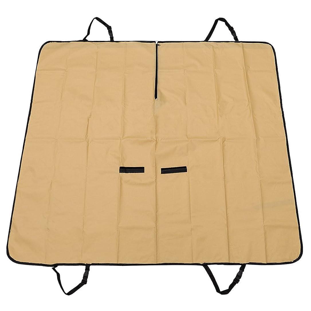 立方体奪うに向かってMIRACLE 【 全3カラー 】 防水 ペットシートカバー 後部座席用 洗える (グリーン) ベルト付き MC-PETSHIT-GR
