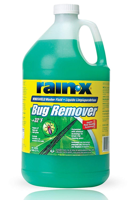 Amazon.com: Rain-X Original 2-in-1 Windshield Washer Fluid, Removes ...