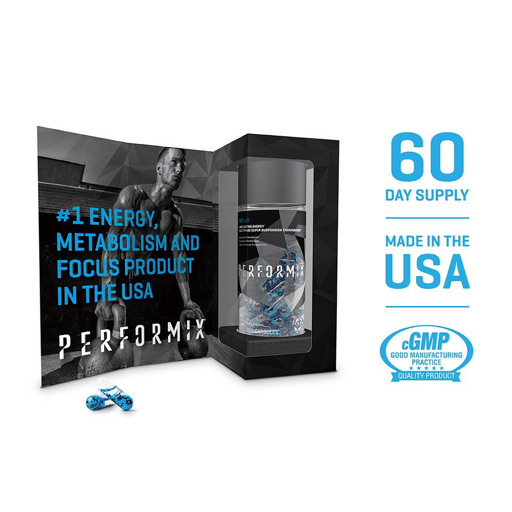 PERFORMIX SSTPERFORMIX SST v2X Suspension Super Thermogenic - 3 Patented Ingredients - Multi-Phase Release for Easy Absorption - Energy, Fat Burner, Mental Focus - 120 Capsules by PERFORMIX (Image #2)