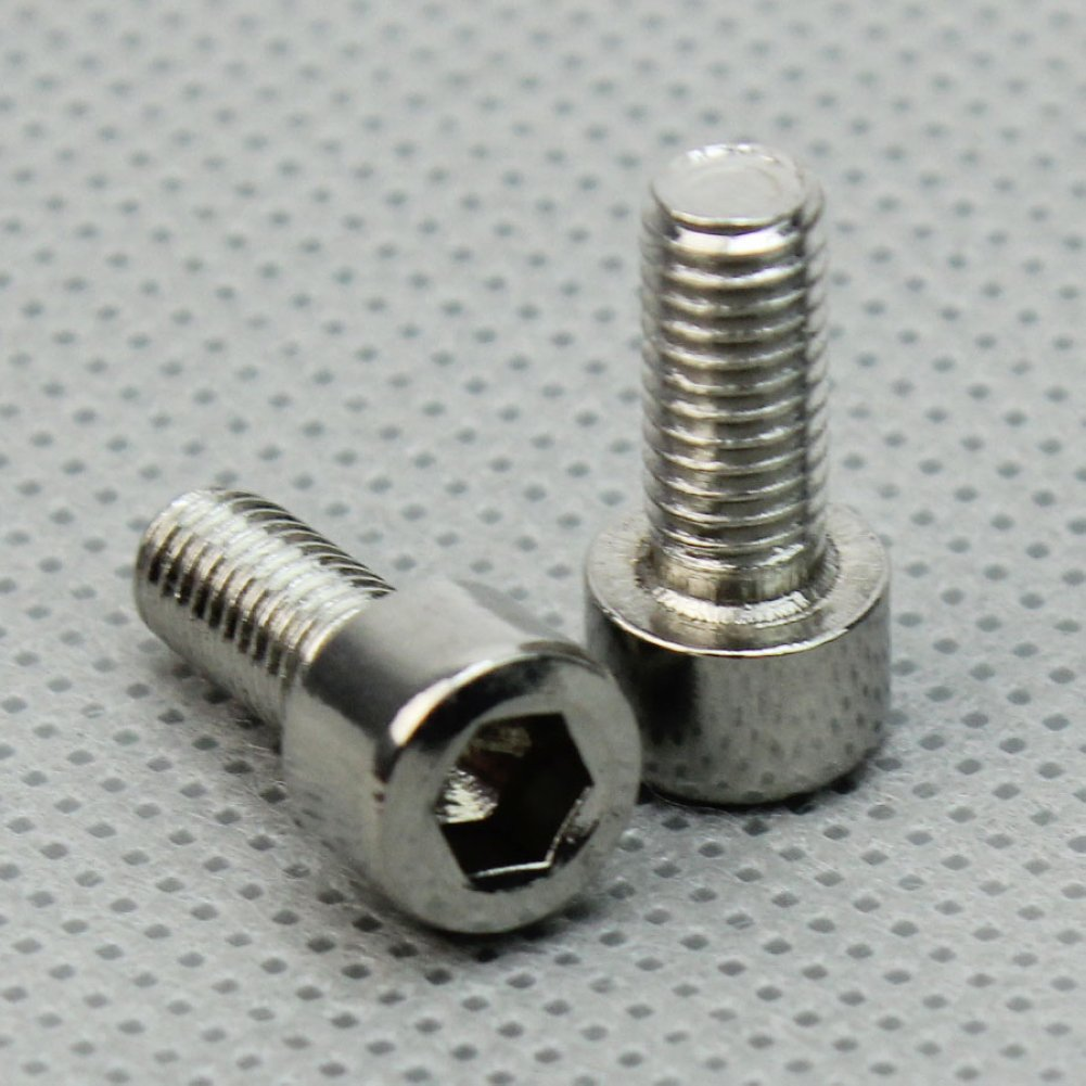 2pcs Bicycle Mountain Road Bike Water Bottle Cage Bolt Screws Stainless Steel