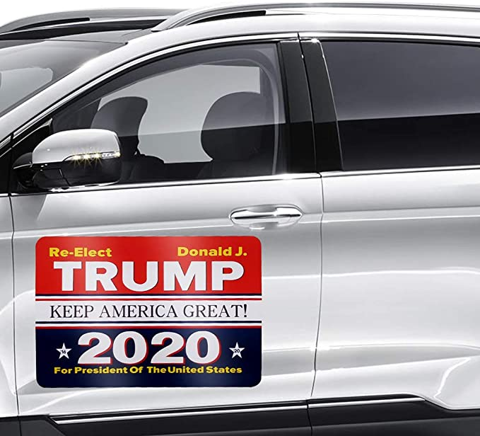 MAGNET Joke 2020 Presidential Election Parody Magnetic Vinyl Car Bumper Sticker 5