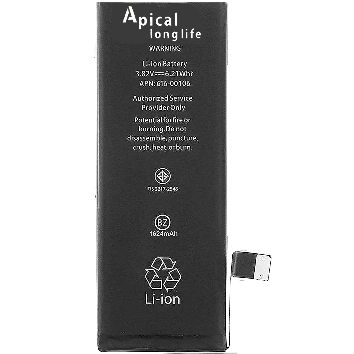 c9bcad72970 Amazon.com: LONGLIFE Replacement Battery for Model iPhone 5SE 0 Cycle -  Batería de repuesto: Cell Phones & Accessories