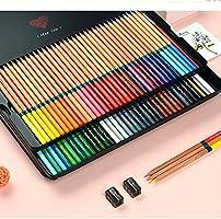 LáPices De Colores Solubles En Agua En Caja De Metal, Set Profesional De 72 Colores Para Dibujar, Dibujar Y Colorear, Ideal Para Regalar: Amazon.es: Oficina y papelería