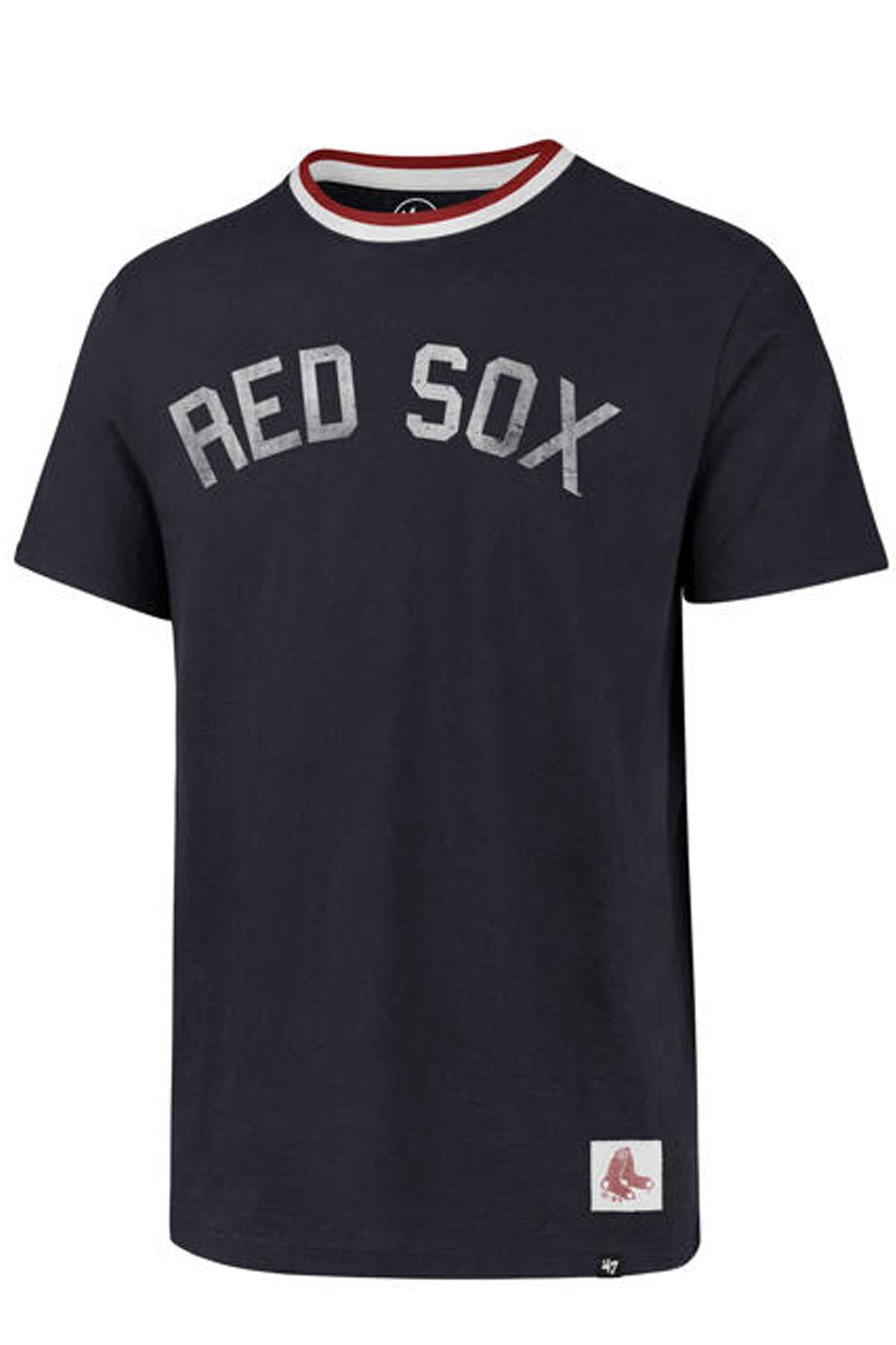 '47 Mens Boston Red Sox Scrum T Shirt (Midnight, Large)