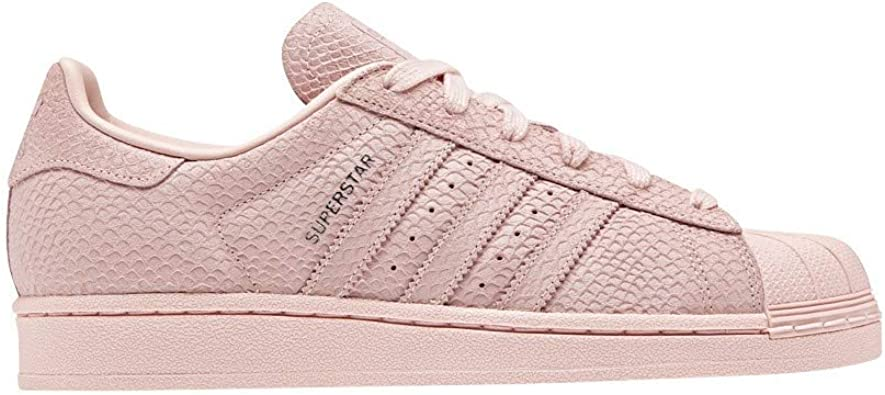 adidas Superstar W Basket Mode Femme Rose: Amazon.fr ...