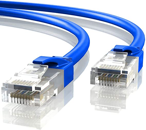 Mr. Tronic 25m Cable de Red Ethernet Latiguillo   CAT6, AWG24, CCA, UTP, RJ45 (25 Metros, Azul): Amazon.es: Electrónica