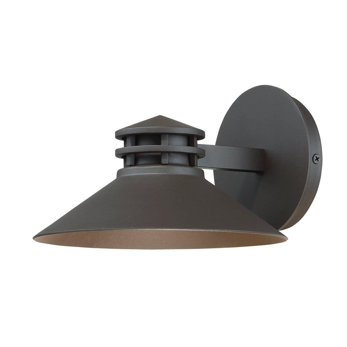 WAC Lighting WS-W15708-BZ Sodor 8'' LED Outdoor Wall Bronze