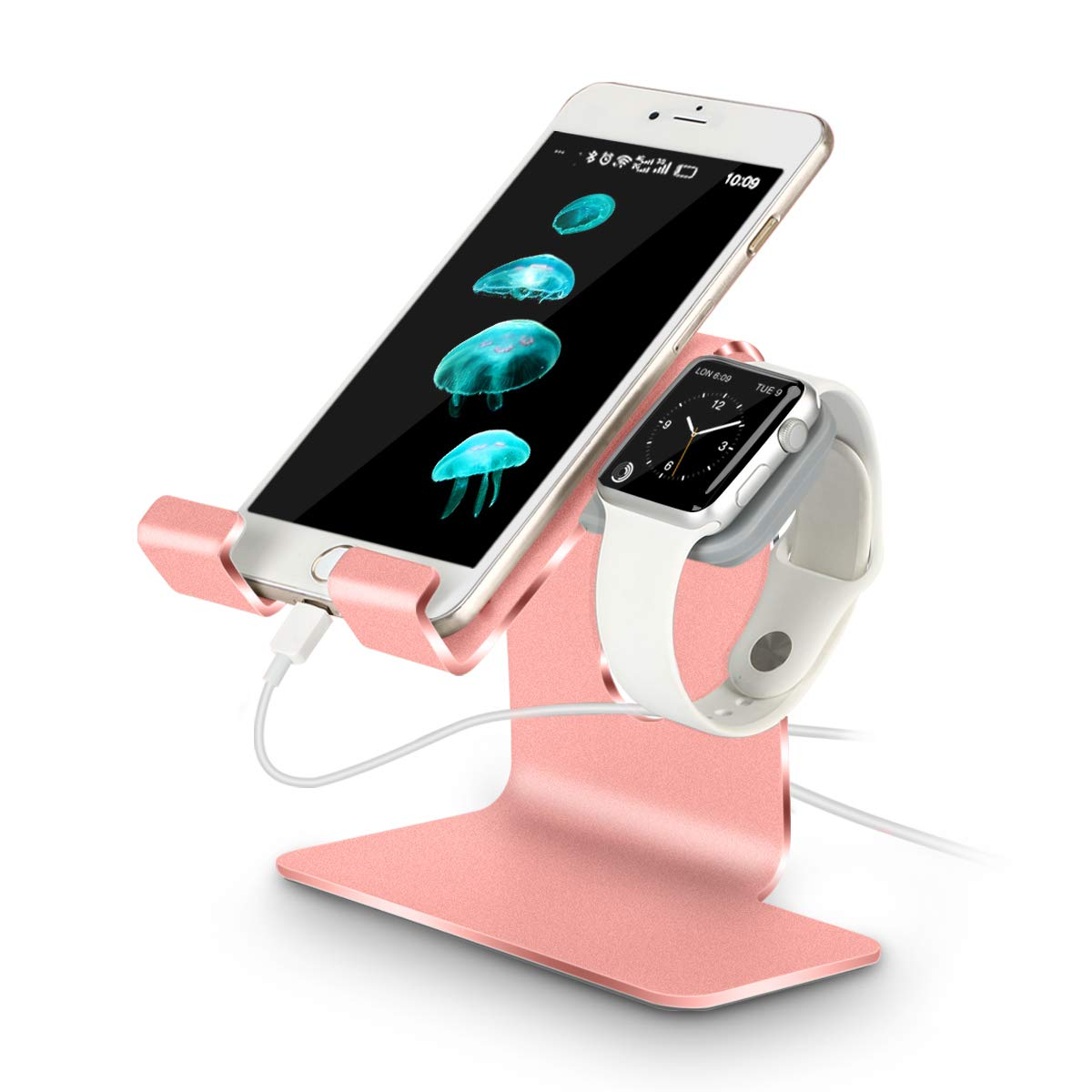 Soporte de carga compatible con Apple Watch 4 / Apple Watch 3 / Apple Watch 2 / Apple Watch