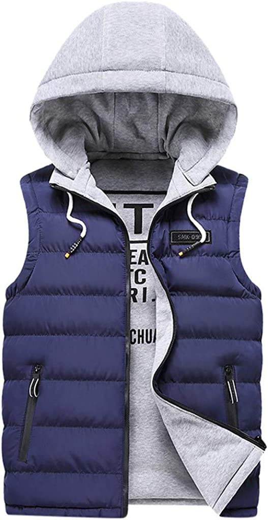 Palarn Denim Sweatshirts Outerwear Hoodies Jackets Fashion Men Autum Winter Hooded Solid Outwear Vest Jacket Tops Blouse