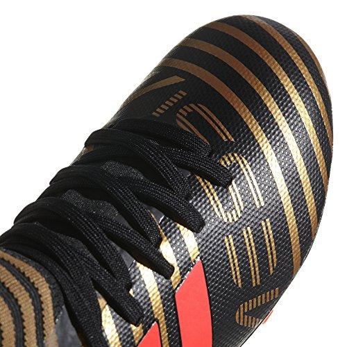 adidas Unisex-Kinder NEMEZIZ Messi 17.3 FG Fußballschuhe Schwarz (Cblack/Solred/Tagome Cblack/Solred/Tagome)