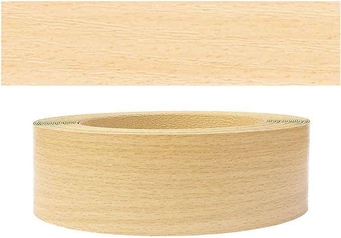 Chants en bois 0,5mm tiss/é fusible Colle thermocollant Bandes de chant en bois ch/êne europ Mprofi MT/® 60mm 5 m r/ôle