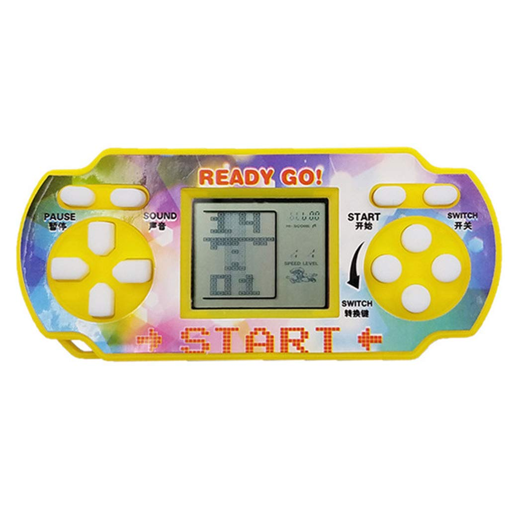 IEnkidu Mini Handheld Game For Tetris Racing Car Puzzle Game Kids Toy