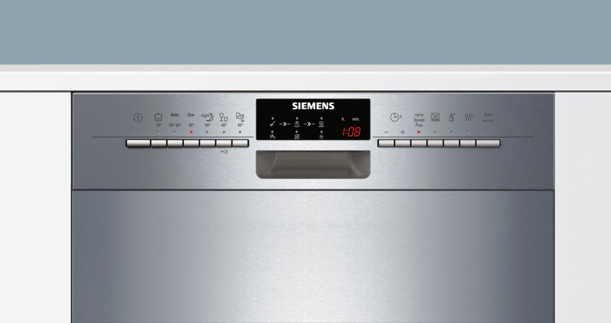 Siemens Unterbau Kühlschrank : Siemens sn p eu iq unterbaugeschirrspüler a
