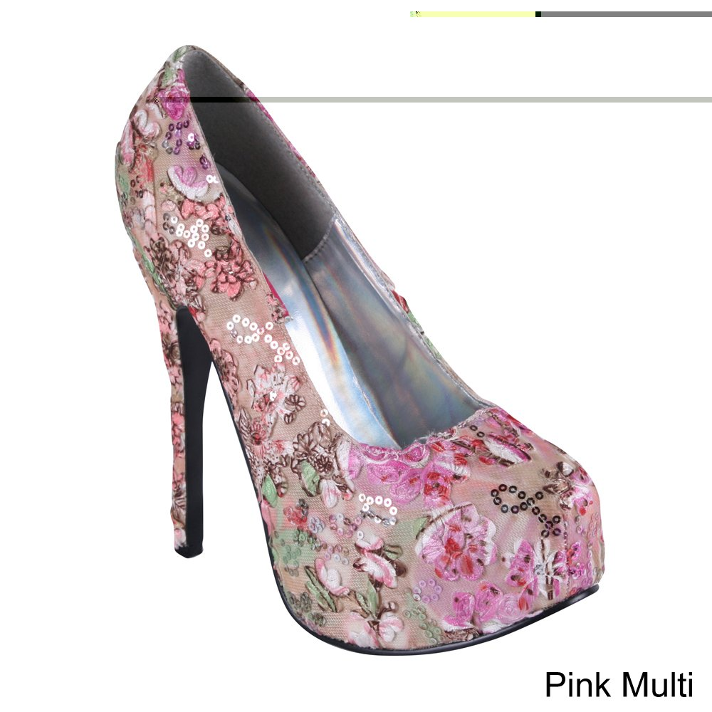 Bordello Teeze-06-6 Teeze-06-6 Teeze-06-6 - sexy High Heels Burlesque Plateau Pumps 36-43 408ab7