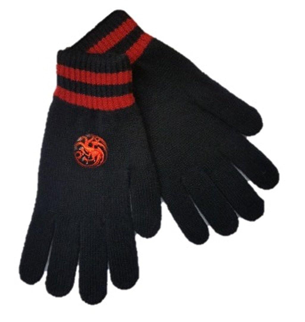 Handmade Lambswool Game of Thrones Targaryen Gloves
