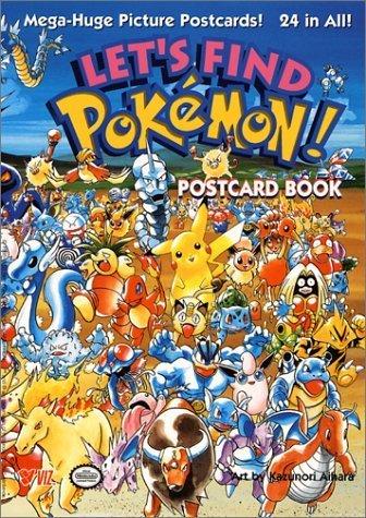 2001 Pokemon - Let's Find Pokemon! Postcard Book (2001-11-09)
