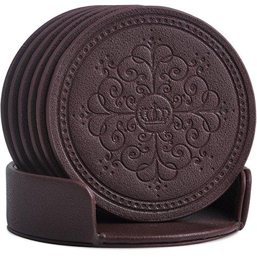 Faux Leather Coaster - 1