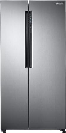 Samsung 674 L Frost Free Side-by-Side Refrigerator(RS62K6007S8/TL, Elegant Inox, Inverter Compressor)