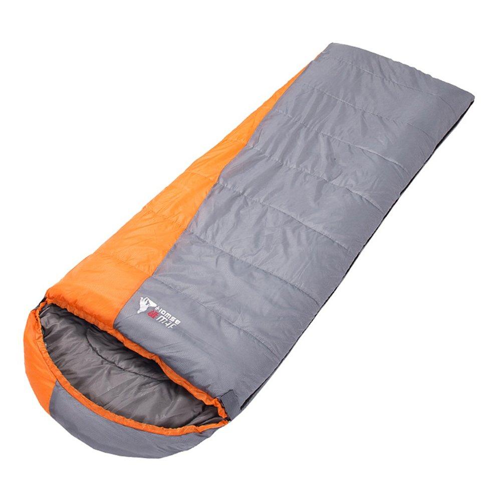 COCO Schlafsack-im Freien kampierend behalten warme Herbst-Winter-doppelte nähende Reise-tragbare Ausrüstung ( Farbe   Grau )