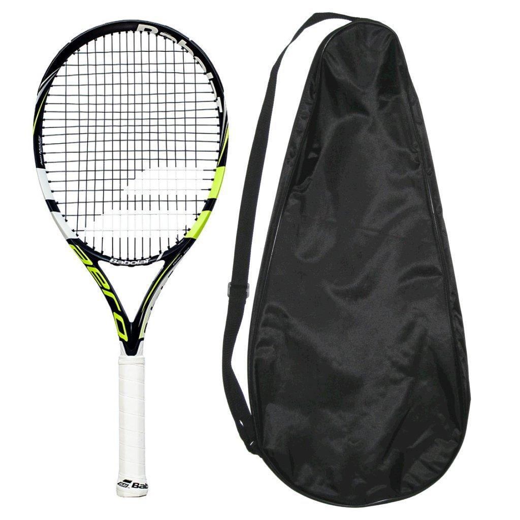 バボラテニスラケットAero B01LZHN90R 112 4.375 – Strung Strung with Cover 4.375 B01LZHN90R, 京たまゆら:22fe1547 --- rigg.is