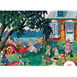A Summer Day by Pauline Paquin, 1000 Piece Jigsaw Puzzle Made by Ravensburger