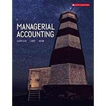 Managerial Accounting Connect With Smartbook Combo