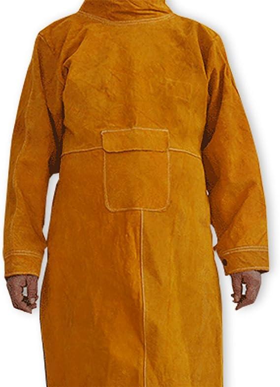Schweißen lange Mantel Schürze Schutzkleidung Bekleidung für Schweißer 4