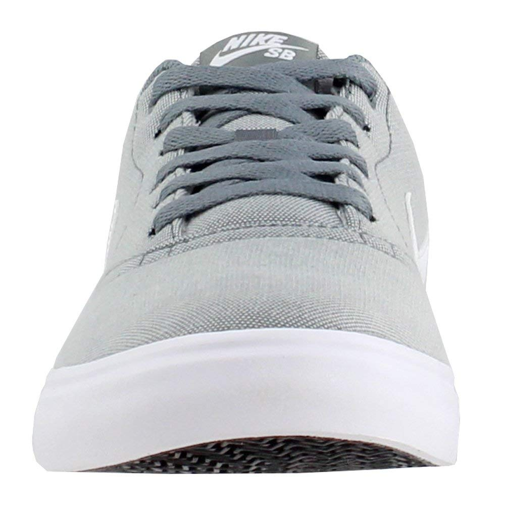 Nike Men's SB Check Solar Canvas, Sneakers, Grey/White, 10 M US by Nike (Image #5)