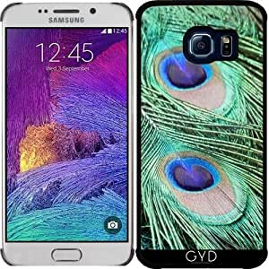 Funda para Samsung Galaxy S6 EDGE (SM-G925) - Peacock_2015_0202 by JAMFoto