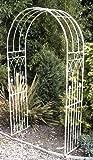 Jonart Design HK 83Louis Garden Arch, creme, 120x 45x 214cm