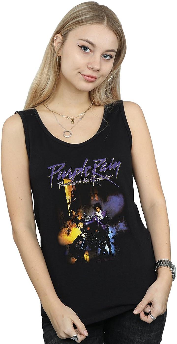 Prince Mujer Purple Rain Camiseta Sin Mangas