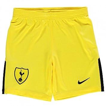 Nike 2017-2018 Tottenham Home Goalkeeper Shorts (Yellow) - Kids ... c21dd741a