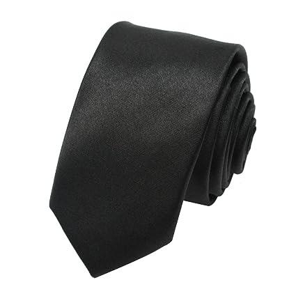 Nueva Corbata Estrecha Estilo Británico Accesorio para Traje Formal Hombre