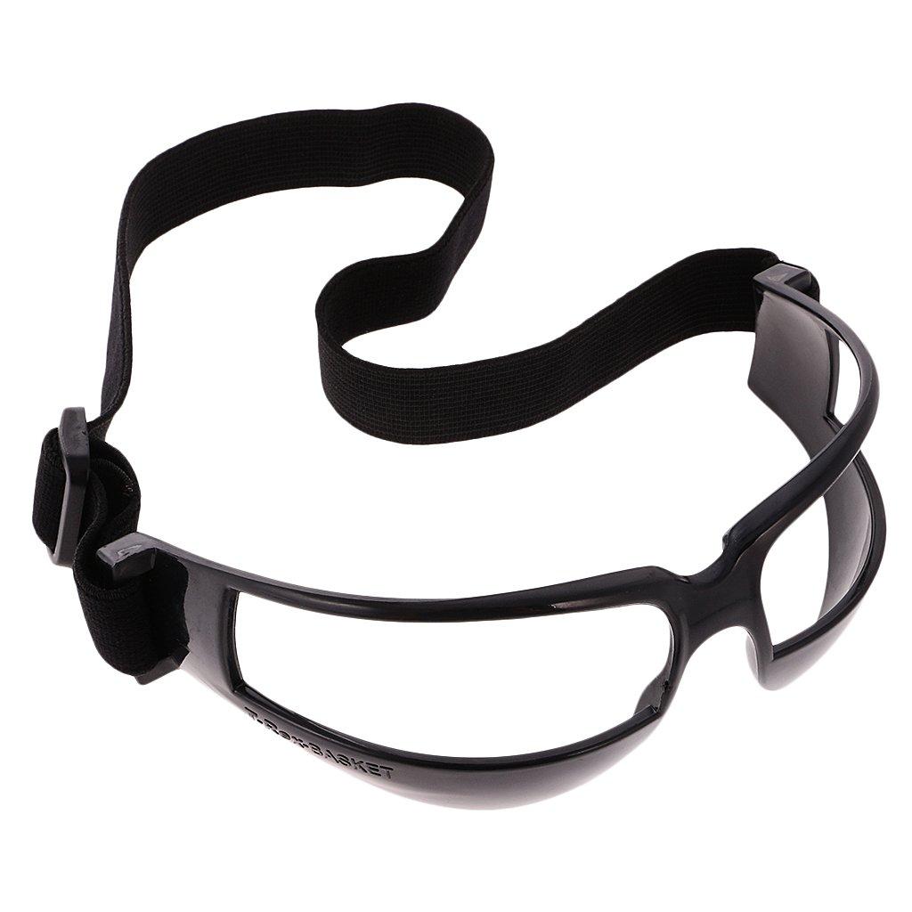 Baoblaze 1/5 Piezas Bateo de Baloncesto Profesional Driblar Gafas de Entrenamiento - Blanco 1 Pieza