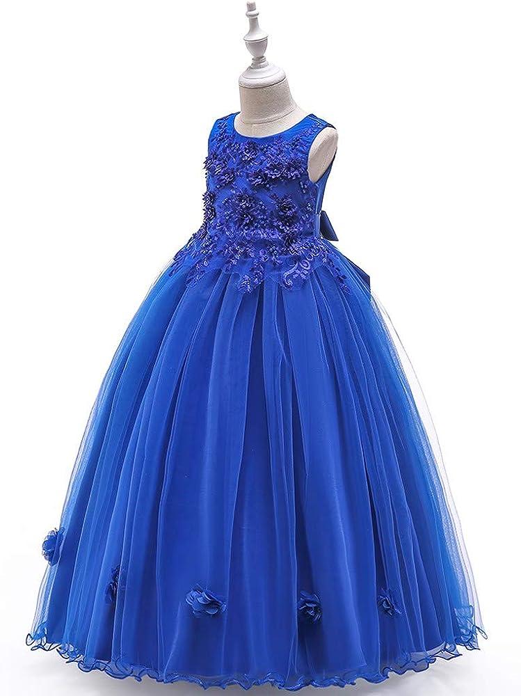 Vestido Fiesta Disfraces para Niños Elegante Princesa Sin Mangas ...