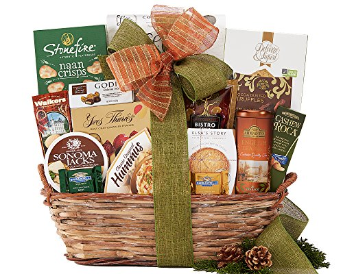Wine Country The Connoisseur Gift Basket (Wine And Nut Gift Baskets)