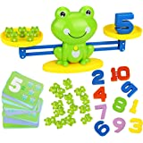 Aitbay Cool Math Game, Frog Balance Counting Toys for Boys & Girls Educational Number Toy Fun Children's Gift STEM…