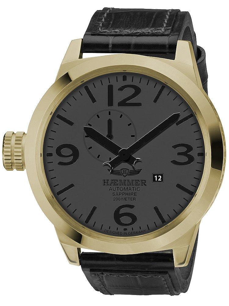Haemmer HM-12 - Reloj de Pulsera de Hombre Color Negro: Amazon.es ...