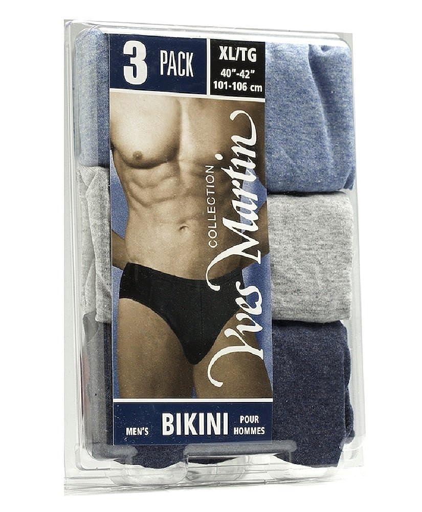 COLLECTION YVES MARTIN | Men's Briefs - Bikini / 3 Pack (175/3) Yves Martin Underwear Inc.