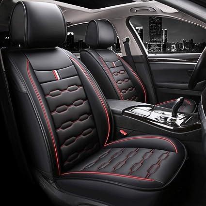 Hyundai Getz Calidad Negro británicos hicieron protectores de cubiertas de asiento de coche-Conjunto Completo