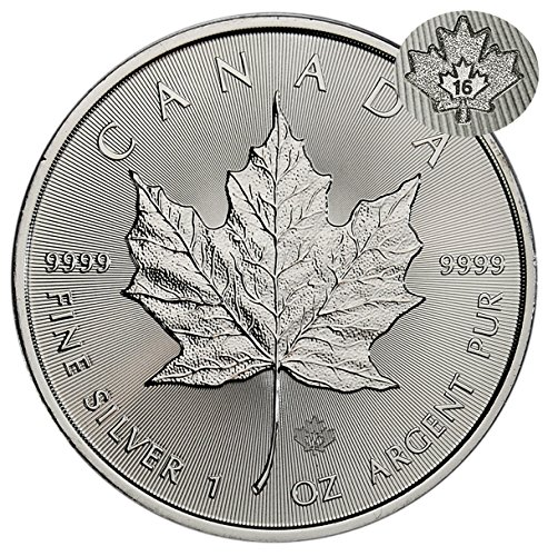 2016 CA Maple Leaf $5 Brilliant (Silver Maple Leaf Bullion)