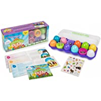 Family Life Resurrection Eggs - 12-Piece Easter Egg Set with Booklet and Religious Figurines Inside - Tells the Full Story of Easter
