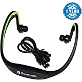 Captcha MPBL-020 Bluetooth Sports Neckband Earphones for Android/iOS Devices (Color may vary)