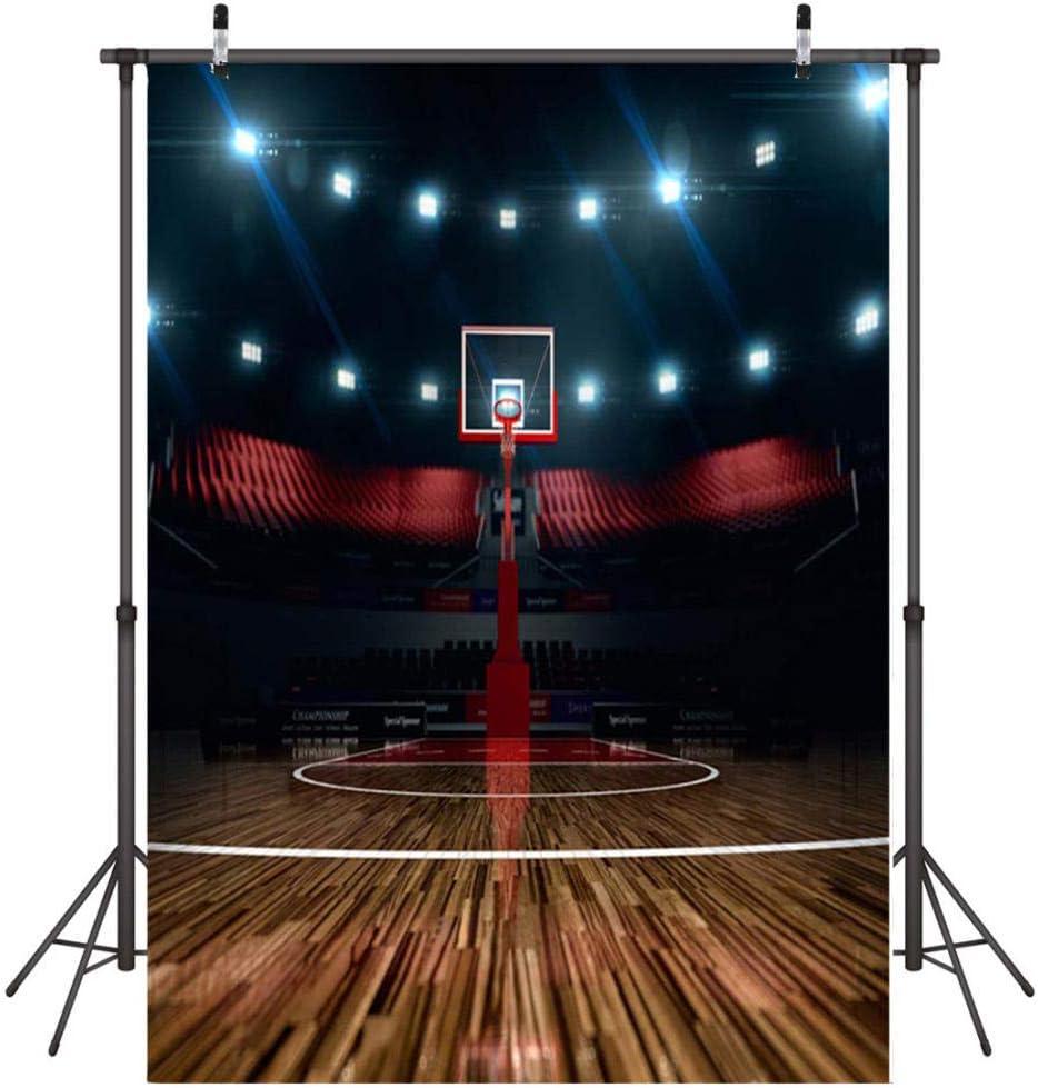 Fondo para Fotografia Cancha de Baloncesto Fondo Photocall Vinilo ...
