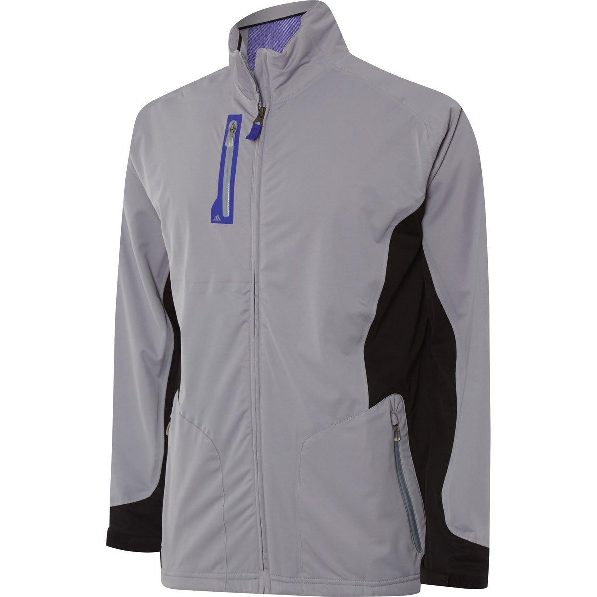 28e793140e4eb adidas 2015 Climaproof Advance Rain Full Zip Waterproof Mens Golf Jacket