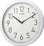 CITIZEN シチズン 掛け時計 防水 防塵 静音 白 CITIZEN 8MG799-003