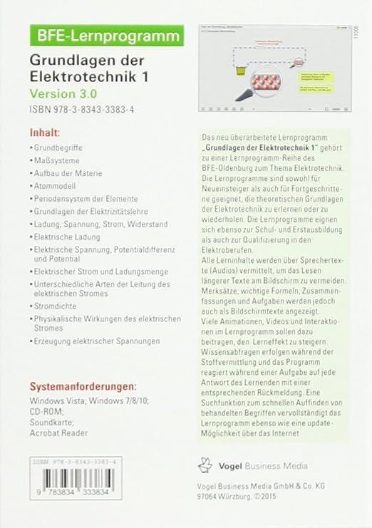 Grundlagen der Elektrotechnik 1 Version 3.0, 2016: Oldenburg BFE ...