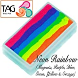 TAG Face Paint 1-Stroke Split Cake - Rainbow Neon (30g)