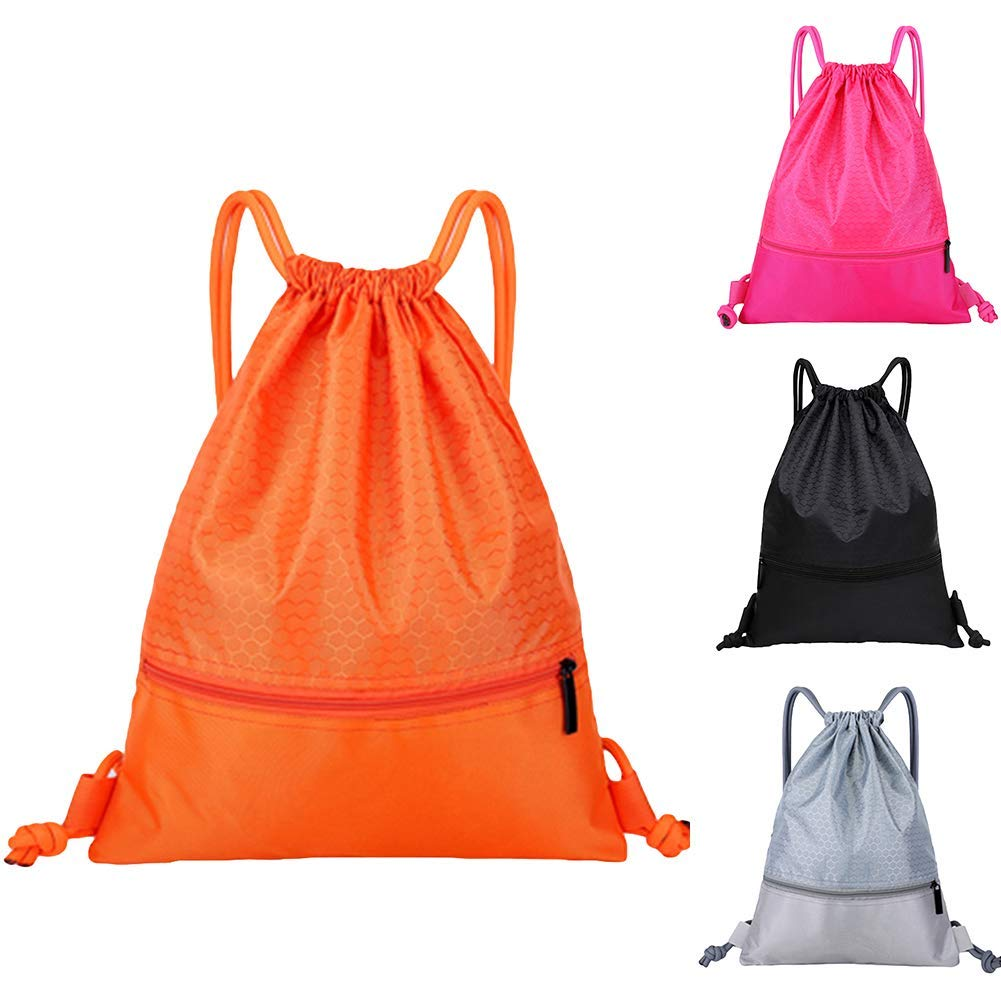 Backpack Outdoor Sports Men Women Basketball Storage Shoulder Bag Drawstring