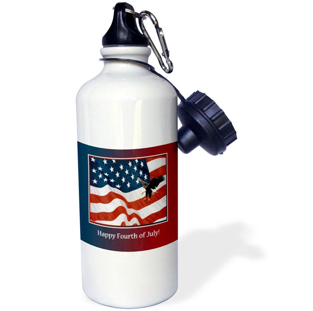 3dRose wb/_212855/_1 Sports Water Bottle 21 oz Multicolor